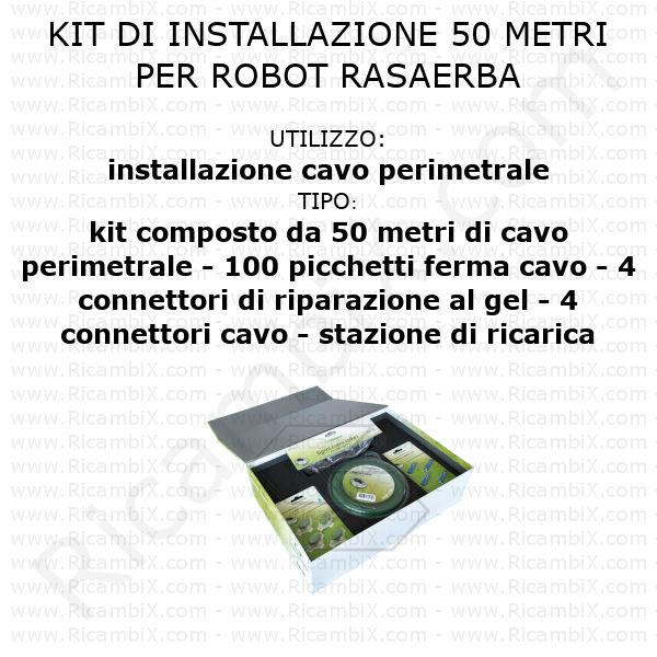 Kit di installazione - 50 metri