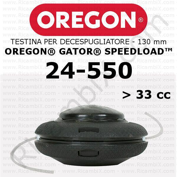 Testina Oregon SpeedLoad 24-550